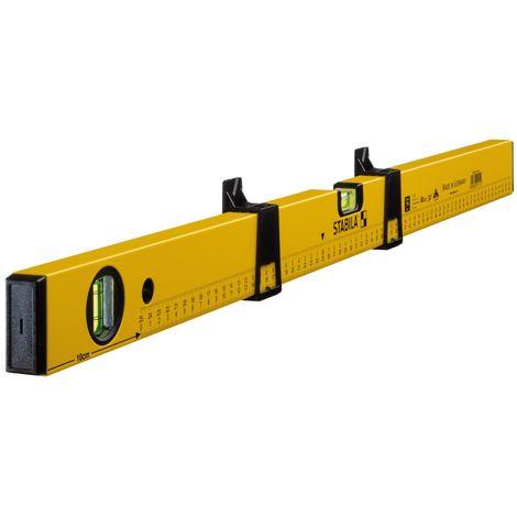 """main image of """"Stabila Livella modello 70 MAS, 80 cm, con cursori di marcatura e scala graduata stampata - 14111"""""""