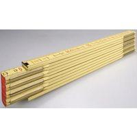 Stabila Mètre pliant en bois 607 607 GEEL 2 MTR