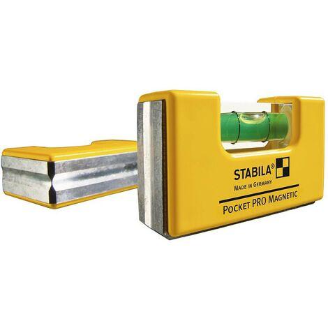 Stabila POCKET PRO MAGNETIC 17768 Mini livella 7 cm 1 mm/m