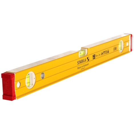 Stabila STB96260 96-2 600mm/24in Double Plumb Ribbed Box Section Level