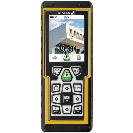 Stabila Télémètre laser LD 520, avec détection numérique de la cible, Bluetooth Smart 4.0 - 18562