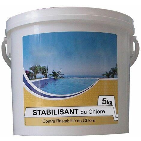 stabilisant du chlore 5kg - chlorestab - nmp