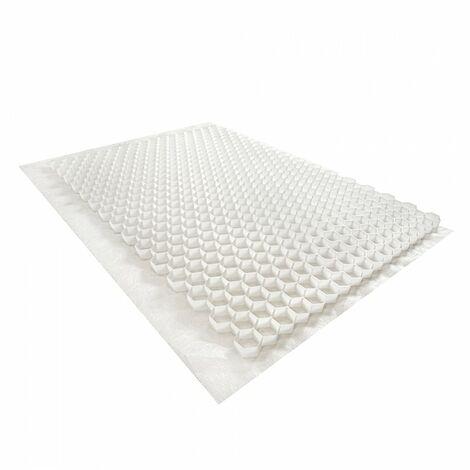 Stabilisateur de graviers 0,96 m² - Blanc - 120 X 80 X 3 cm Blanc - Rinno Gravel