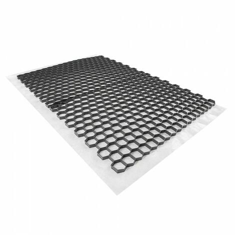 Stabilisateur de graviers 0,96 m² - Gris - 120 X 80 X 2 cm Gris - Rinno Gravel