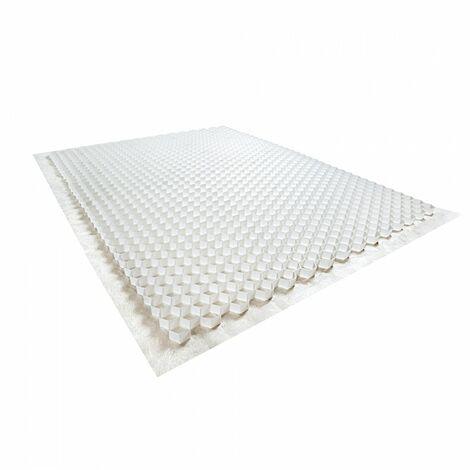 Stabilisateur de graviers 1,92 m² - Blanc - 120 X 160 X 3 cm Blanc - Rinno Gravel