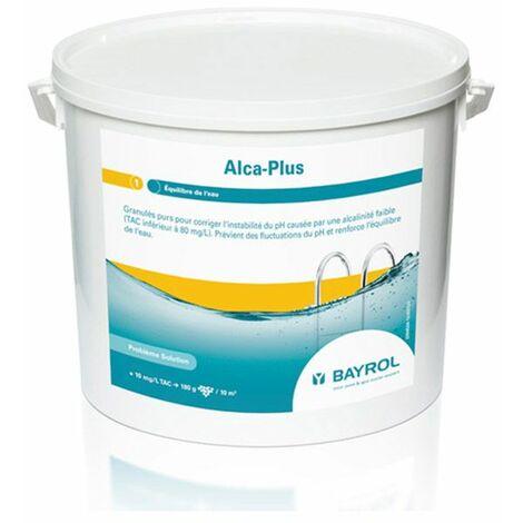 granulés purs pour corriger l?instabilité du ph 5kg - alca-plus 5kg - bayrol
