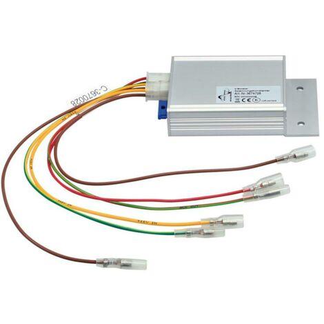 Stabilisateur de tension compatible avec borne 15 et 30