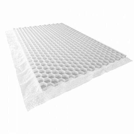 Stabilisateur gravier 1200 x 800 mm - Nidaplast - 0.96 m² - Blanc -