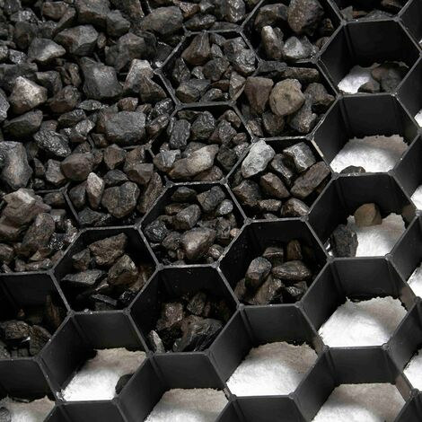 Stabilisateurs de graviers (palette de 35 unités soit 33,6 m²) - Noir - Noir
