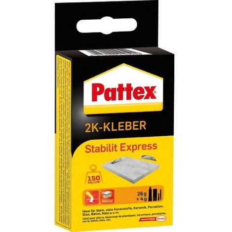 Stabilité Pattex Express, Modèle : Tube de 80 g, Type PSE6N (Par 6)