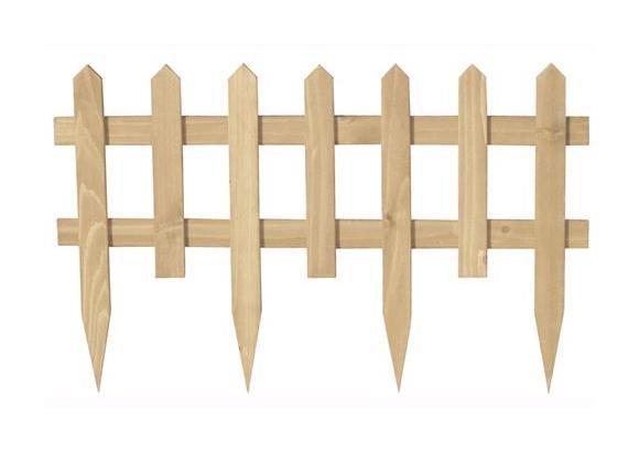 Steccato Per Giardino : Staccionata in legno tropicale mod garden da giardino h cm