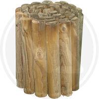 Staccionata rollborder cm 5x250x30h - in legno di pino impregnato in autoclave
