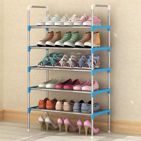 Stackable Shoe Storage Rack Supporter Shelf