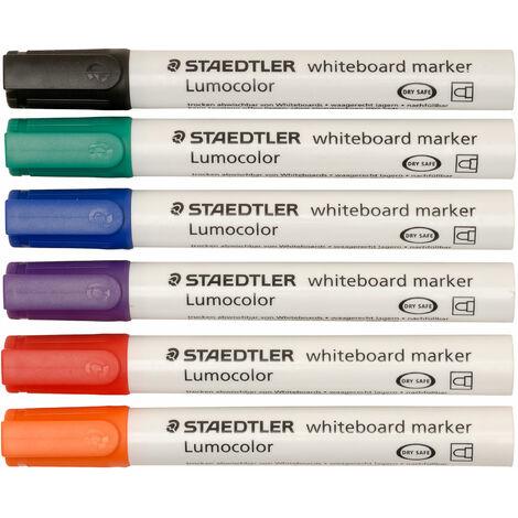 Staedtler 351 WP6 Whiteboard Pens 351 (Pack of 6)
