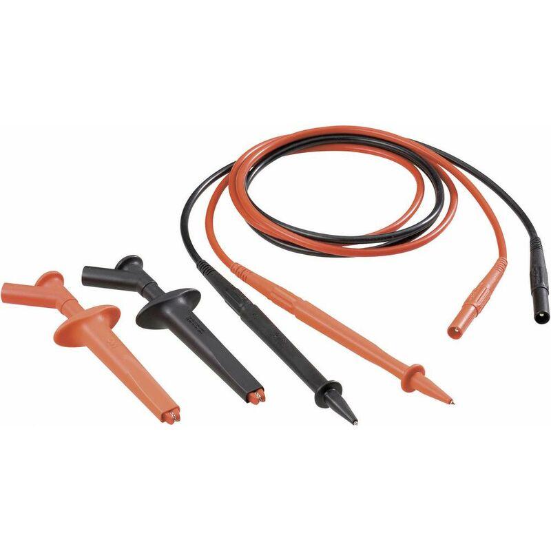 Lamellenstecker 4mm - Lamellenstecker 4 Stäubli XMS-419 Sicherheits-Messleitung