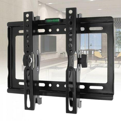 Porta Tv Lcd Da Muro.Staffa Porta Tv Universale Lcd Monitor Regolabile Parete Muro Da