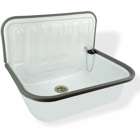Ausgussbecken Kunststoff Waschbecken Handwaschbecken Spüle Spülbecken Granit