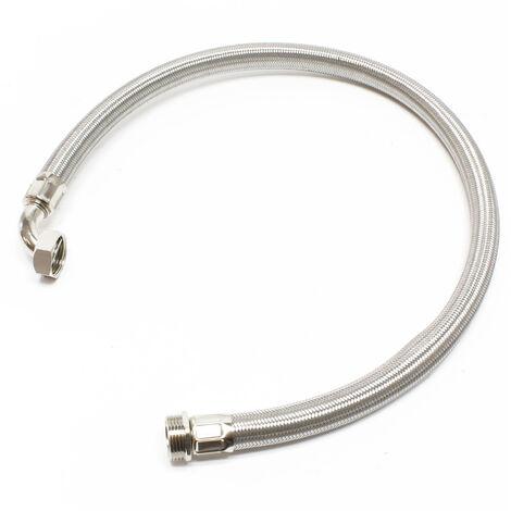 Stahlflex-Wasserschlauch 1m (1Zoll) für Hauswasserwerke