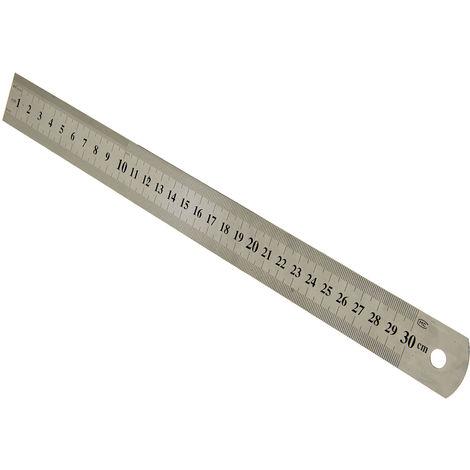 300 mm Messwerkzeug Edelstahl Stahllineal Präzisions-Stahlmaßstab