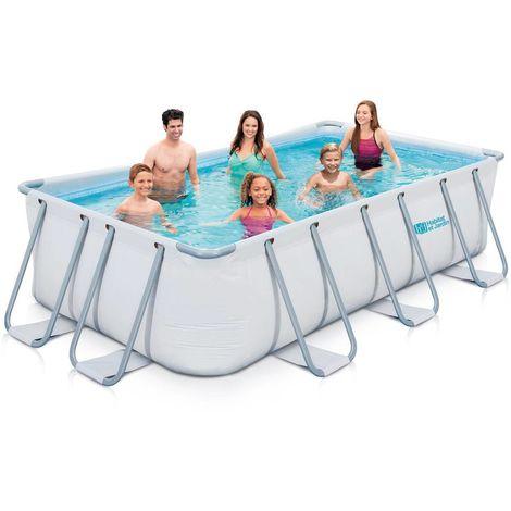 Stahlrahmen Pool LUDO 2 - 4.01 x 2.01 x 1.22 m
