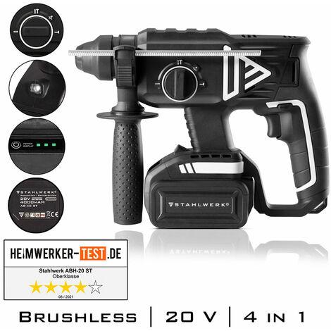 STAHLWERK Brushless Marteau perforateur sans fil ABH-20 ST 20V/4Ah