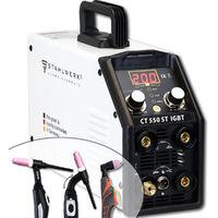 garantie 5 ans allumage pilote STAHLWERK CUT 100P IGBT Plasma avec 100 amp/ères jusqu/à 40 mm de puissance de coupe blanc convient pour les couloirs