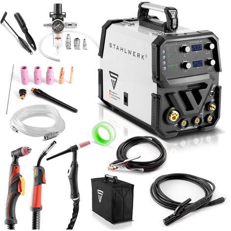 STAHLWERK CTM-250 ST Kombi-Schweißgerät WIG + MIG/MAG + MMA/E-Hand + CUT/Plasma
