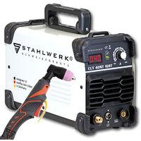 STAHLWERK CUT 40 ST Coupeur de plasma IGBT avec 40 ampères, performances de coupe jusqu'à 10 mm, convient aux tôles peintes, garantie* du fabricant de 5 ans