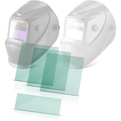 STAHLWERK Ersatzscheiben Vorsatzscheiben für Schweißhelm ST 450R und ST 450RC transparent 3er Set