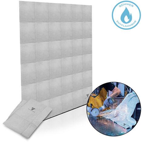 STAHLWERK estera de soldadura manta de soldadura cuero robusto alta resistencia térmica y mecánica alta calidad