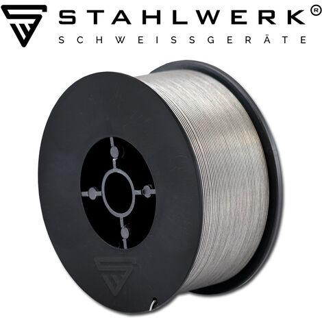 STAHLWERK MIG MAG FLUX E71T-GS Ø 0,8 mm /1 kg D100 - hilo de soldadura FLUX