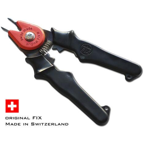 STAHLWERK MIG MAG Tenazas para boquillas 15-18 mm Accesorios de soldadura para soldadoras MIG Tenazas de combinación 4 en 1, para boquillas de gas & corriente, hilo de soldadura, negro
