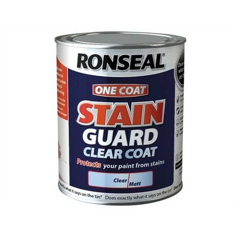 Stain Guard Clear Coat Matt