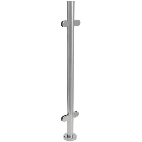 Stainless Steel Balustrade Posts Staircase Handrail Post Glass Post