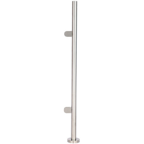 Stainless Steel Balustrade Posts with Glass Clamps Fence Stair Railing Poles