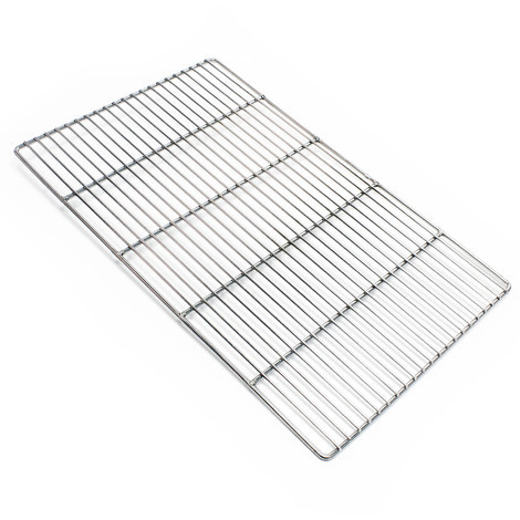 Stainless steel Barbecue grate rectangular 54 x 34 cm rust free for charcoal grill, gas grill and others