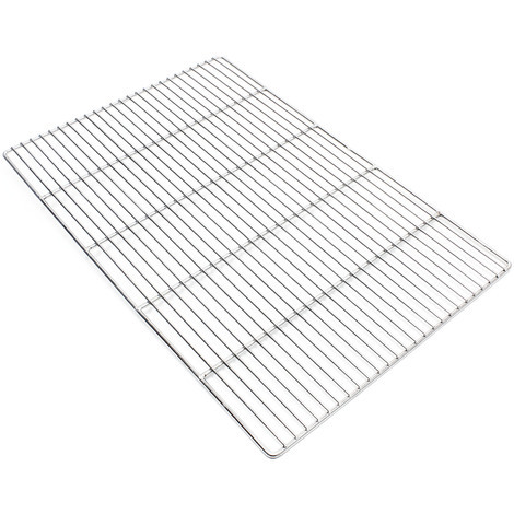 Stainless steel Barbecue grate rectangular 60 x 40 cm rust free for charcoal grill, gas grill and ot
