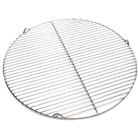 Stainless steel Barbecue grate round 55 cm rust free for charcoal, gas, swing and others grills