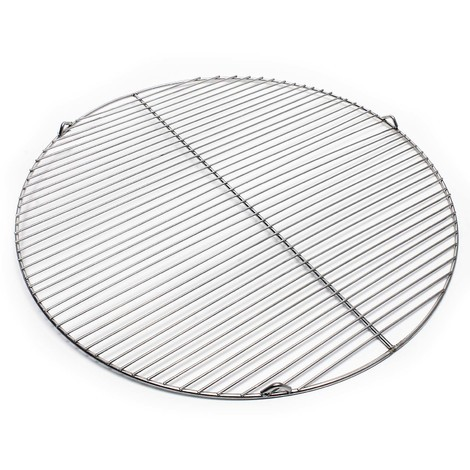 Stainless steel Barbecue grate round 64,5 cm rust free for charcoal, gas, swing and others grills