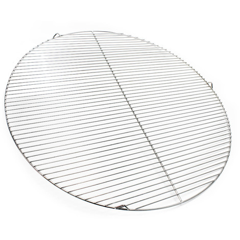 Stainless steel Barbecue grate round 80 cm rust free for charcoal grill, gas grill, swing grill and