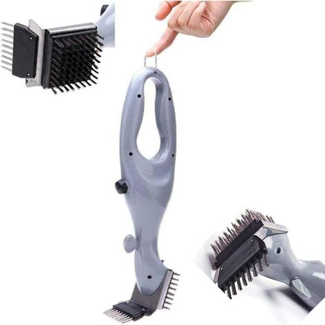 """main image of """"Stainless Steel BBQ Grill Cleaning Brush, Outdoor BBQ Grill Brush, Grill Cleaner Steam BBQ Accessories Cooking utensils as shown"""""""