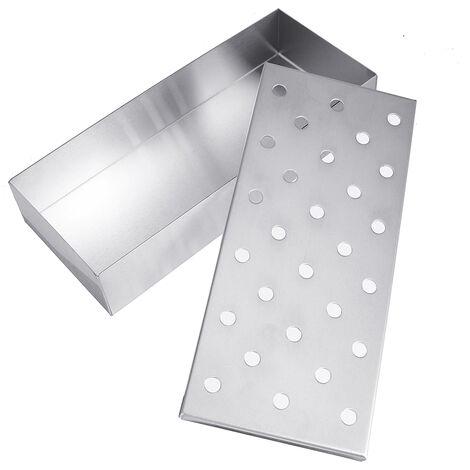 Stainless Steel BBQ Smoker Box BBQ Accessories