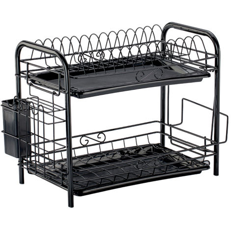 Stainless Steel Dish Rack Kitchen Drip Tray With Immersion Tray Sink Rack