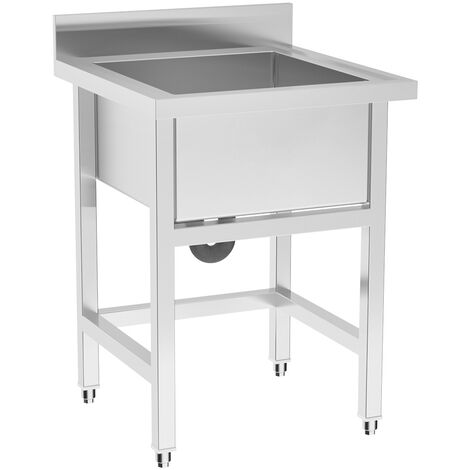 Stainless Steel Domestic Commercial Catering Sink Kitchen Sinks Free Standing