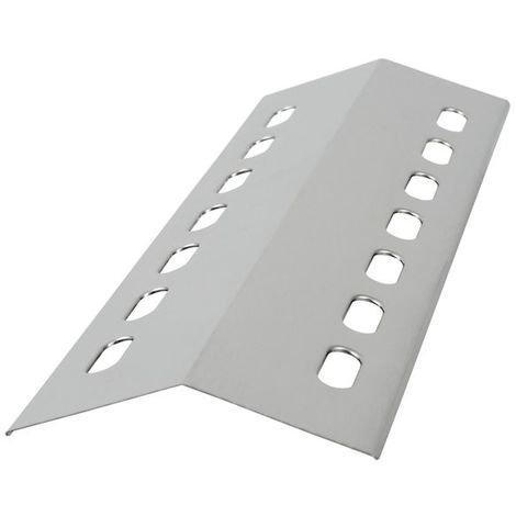 Stainless steel flame distributor, burner cover, 41 x 14 cm