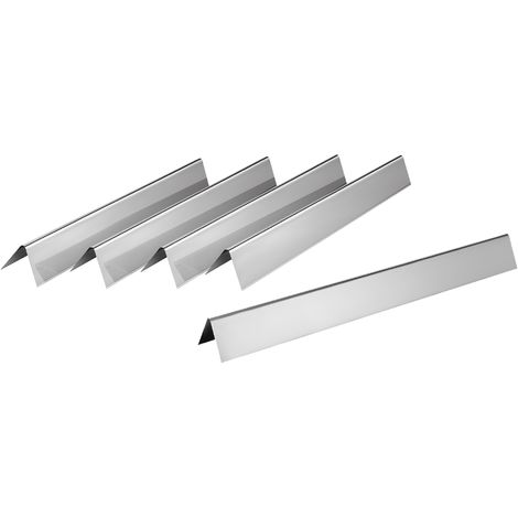 Stainless steel flavorizer bars set for Weber Spirit 300 series until 2012