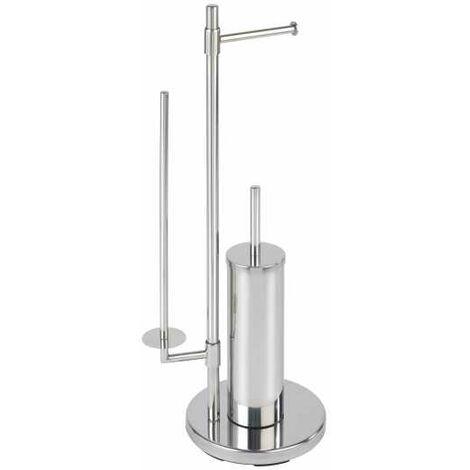 Stainless steel freestanding toilet brush Universalo Neo WENKO