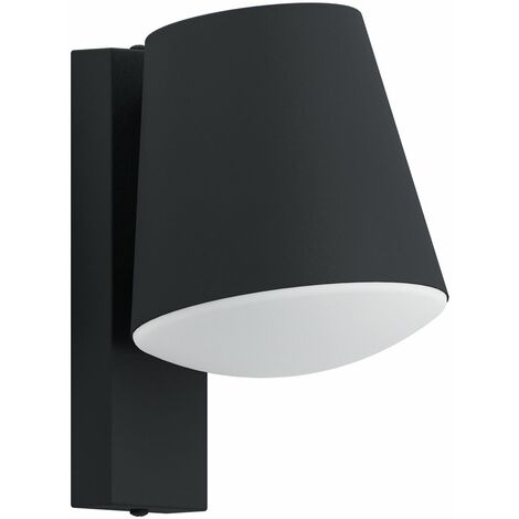 Stainless Steel Indoor & Outdoor Down Wall Lamps / Lights Ip44 Pir Anthracite