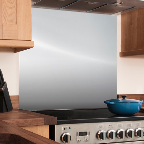 Stainless Steel Kitchen Splashbacks In a Variety of Sizes