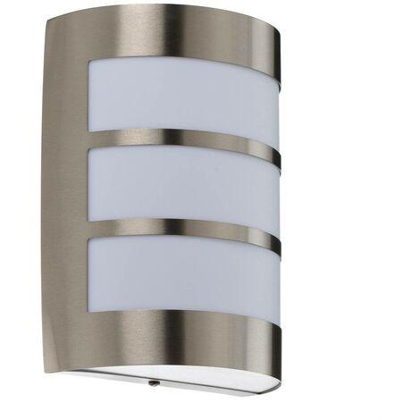 Stainless steel outdoor wall light Kristian